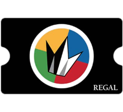 $50 Regal gift card for $40 + email delivery @ eBay