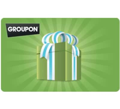$100 Groupon gift card for $90 + email delivery @ eBay