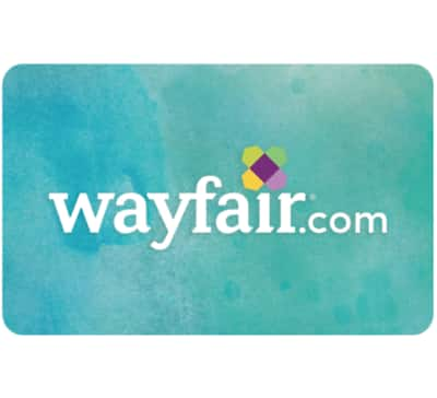 $50 Wayfair.com gift card for $40 + email delivery @ eBay
