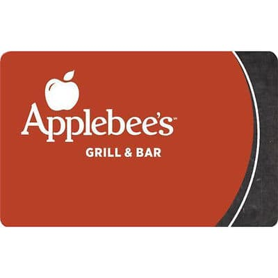 $50 Applebee's gift card for $40 + email delivery @ eBay