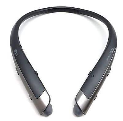 b7542b8e878 LG Tone Platinum Stereo Headset - Black (HBS-1100) manufacturer refurbished  for $31.99 w/coupon code+ FS @ eBay