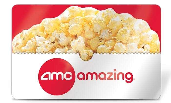 Select Groupon Customers: $26 AMC Theatres eGift Card for $13, YMMV