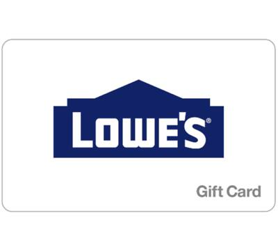 $100 Lowe's GC for $90 + email delivery @ eBay