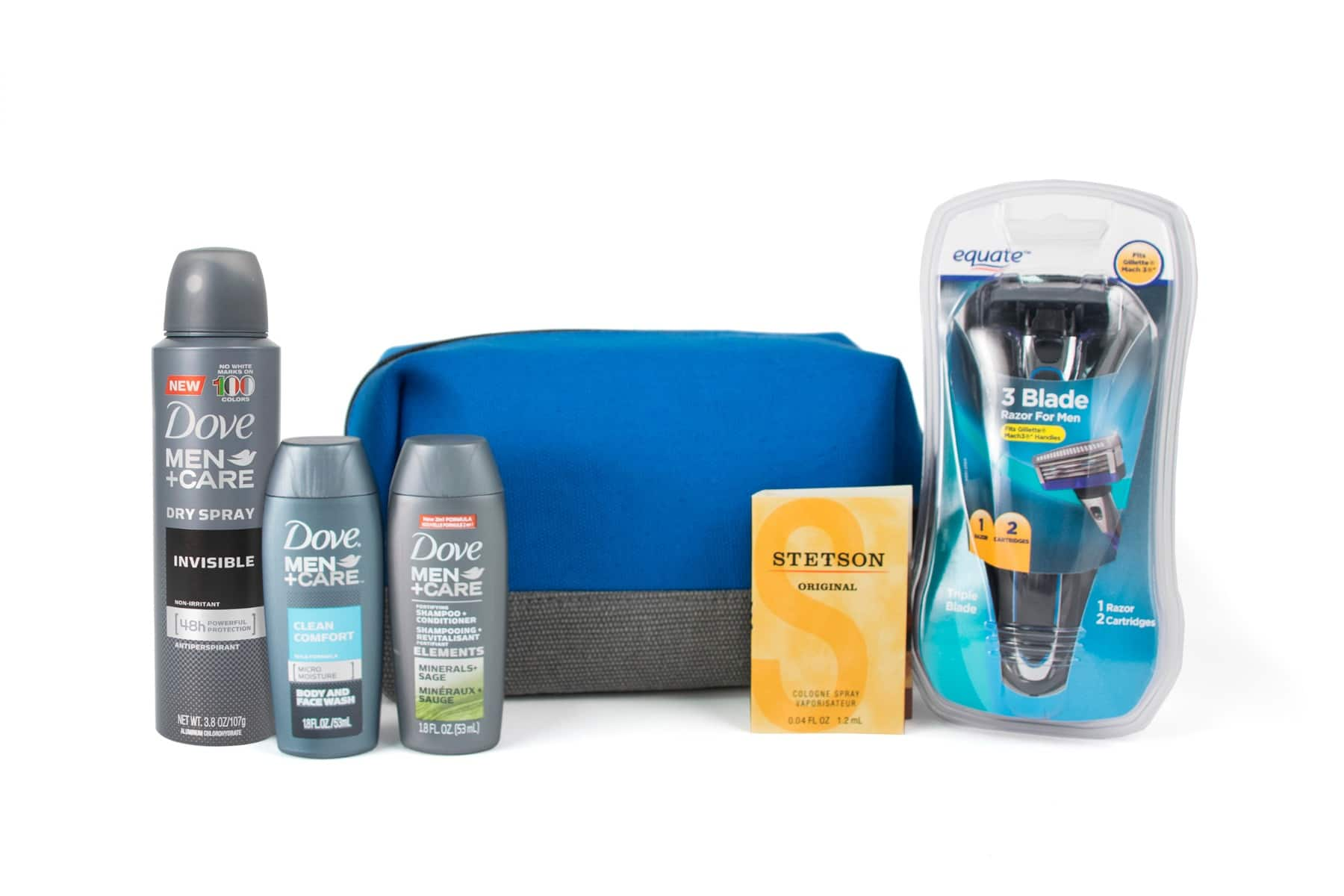 Limited Edition Men's Grooming Bag for $7 (A $21.00 value) @ Walmart