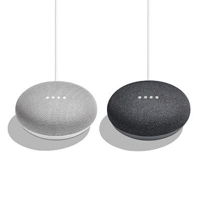 2-Pack Bundle - Google Home Mini (CHALK or charcoal) for $58 + FS Google via eBay