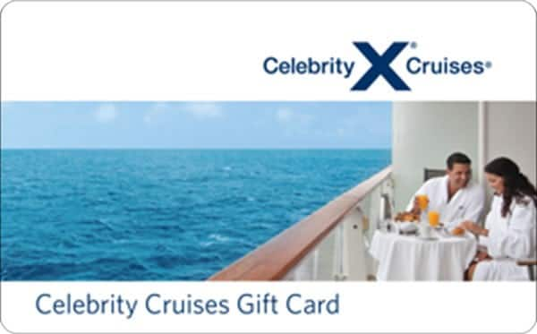 $100 celebrity cruises GC for $85, $50 Fanatics GC for $40 + email delivery @ PPDG
