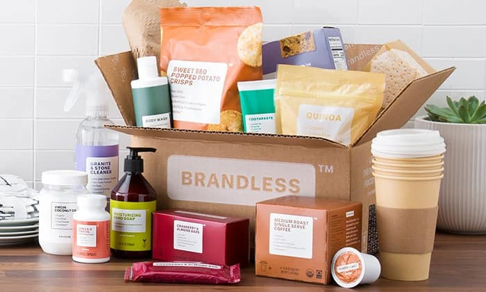 $20 for $40 Towards Everyday Essentials at Brandless (Two $20 Vouchers) @ Groupon & Living social