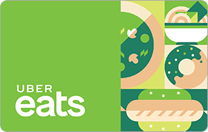 $50 Uber eats gc for $45 + email delivery @ ppdg