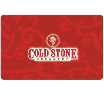 Buy a $20 Cold Stone Creamery Gift Card and Get a $5 code - Emailed (2 codes) @ eBay