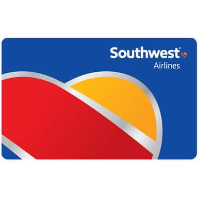 $200 Southwest airlines GC for $180 + email delivery @ eBay
