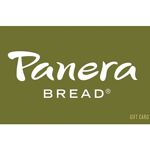 $50 Panera bread GC for $45 (Email delivery) @ Staples