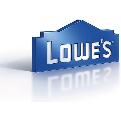 $100 Lowe's GC Gift Card for $90 + email delivery @ Staples