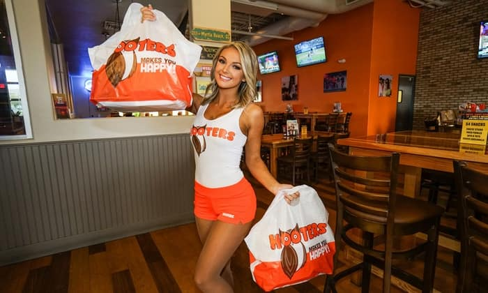 $10 Voucher for Hooters To Go Mobile App or Online Order of $20 or More @ Groupon & Living Social