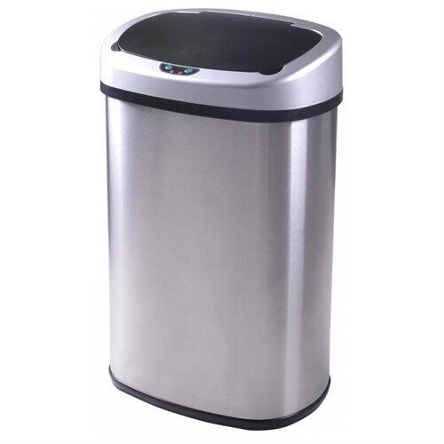 13-Gallon Touch-Free Sensor Automatic Stainless Steel Trash Can for $31.99 w/coupon code + FS @ Rakuten