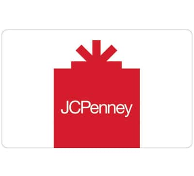 A 25 Jcpenney Gift Card And Get An Additional 5 Code 30 Value