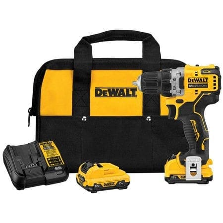 DeWalt XTREME 12-volt Max 3/8-in Brushless Cordless Drill (2-Batteries Included and Charger Included) $79