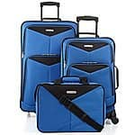 Macy's Travel Select Bay Front 3 Piece Luggage Set $49.99 + FS