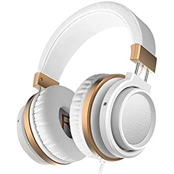 Ailihen MX-06 Over Ear Headphones with Microphone and Volume Control - $11.95