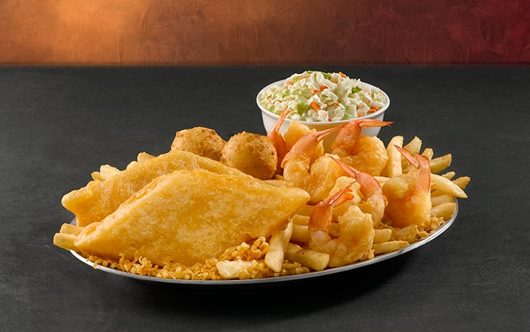 "Long John Silver's has ""All You Can Eat Sundays"" starting at $7.99"