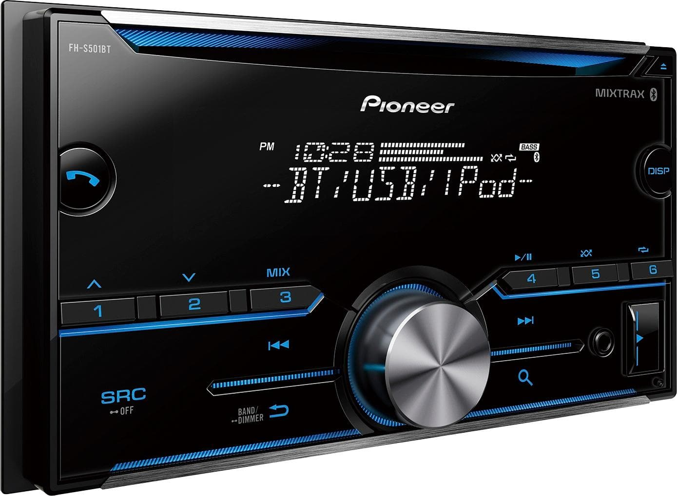 Bestbuy.com: Pioneer - Bluetooth - In-Dash CD Receiver (double din) $55 + FREE S&H + FREE installation