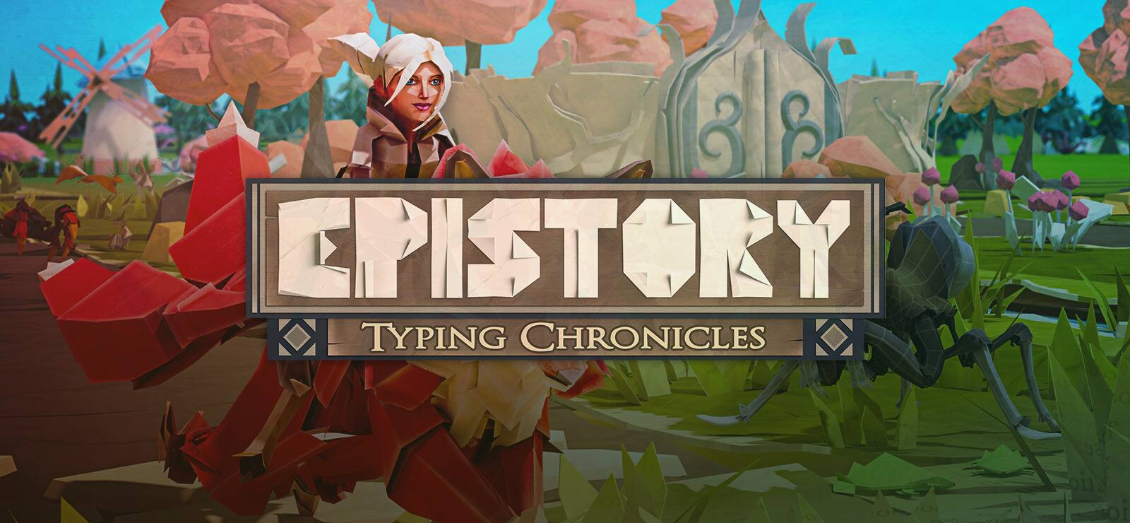 Epistory - Typing Chronicles on sale for 75% off.  Now for $3.74 at GOG.com