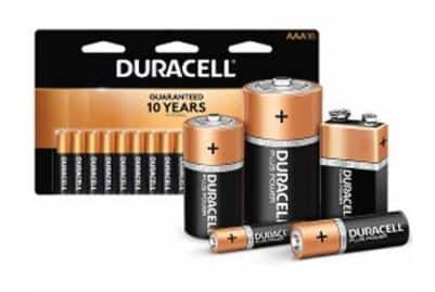 Upcoming Duracell or Energizer Batteries + 100% Back in Rewards $12