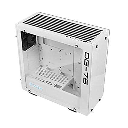 EVGA DG-76 Alpine White Mid-Tower, 2 Sides of Tempered Glass, RGB LED and Control Board, Gaming Case $80 with shipping