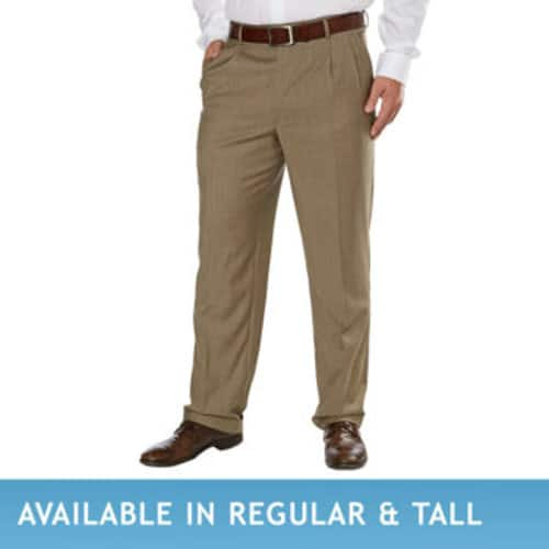 6e56a8b750de Kirkland Signature Men's Wool Dress Pant - Pleated / flat front - free  shipping $19.97