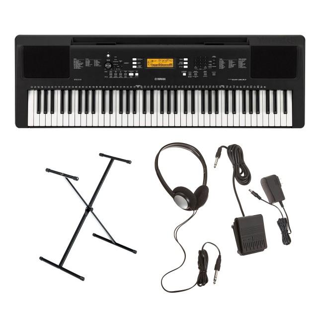 Yamaha PSR-EW300 Keyboard Bundle $199