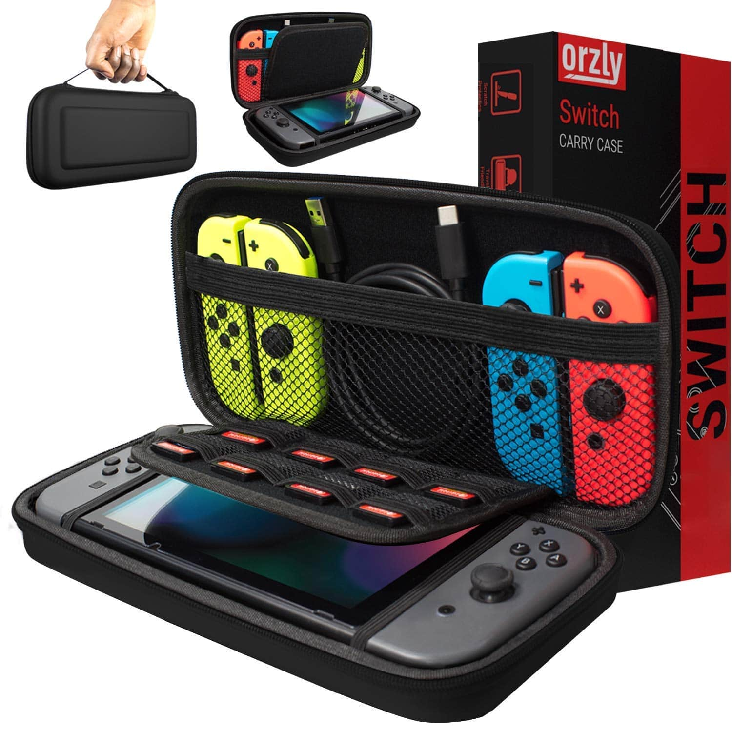 Orzly Carry Case Compatible With Nintendo Switch $10.19 FREE PRIME SHIPPING