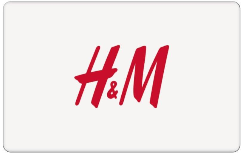 Paypal: H&M $50 Gift Card ($40)