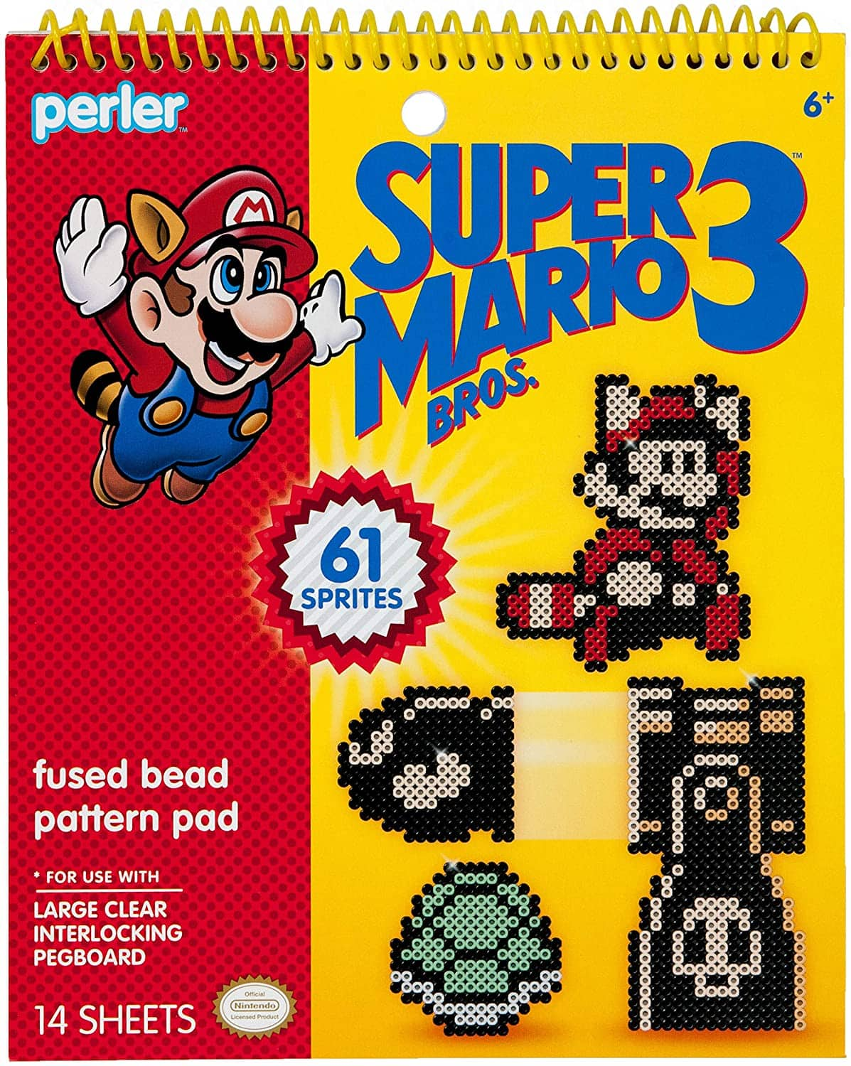Perler Super Mario Bros 3 Fuse Bead Pattern Book (61 Different Images) $6.50 + Free Shipping w/ Prime or $25+