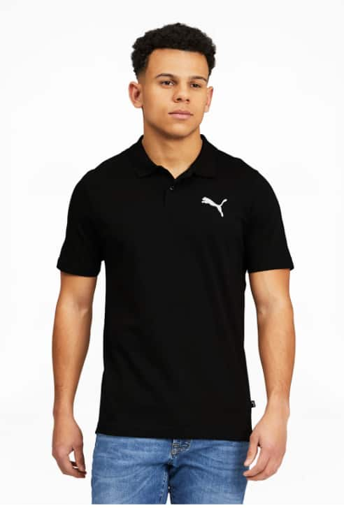 Puma Apparel: Men's Polo Shirts (various) $9, Women's Essentials 3/4 Logo Leggings $9, More + Free Shipping on $50+