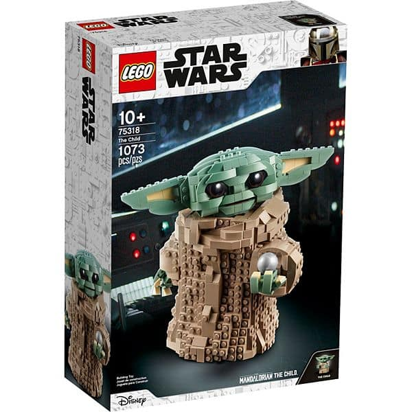 1073-Piece LEGO Star Wars: The Mandalorian The Child Building Set (75318) $69.99 + Free Shipping