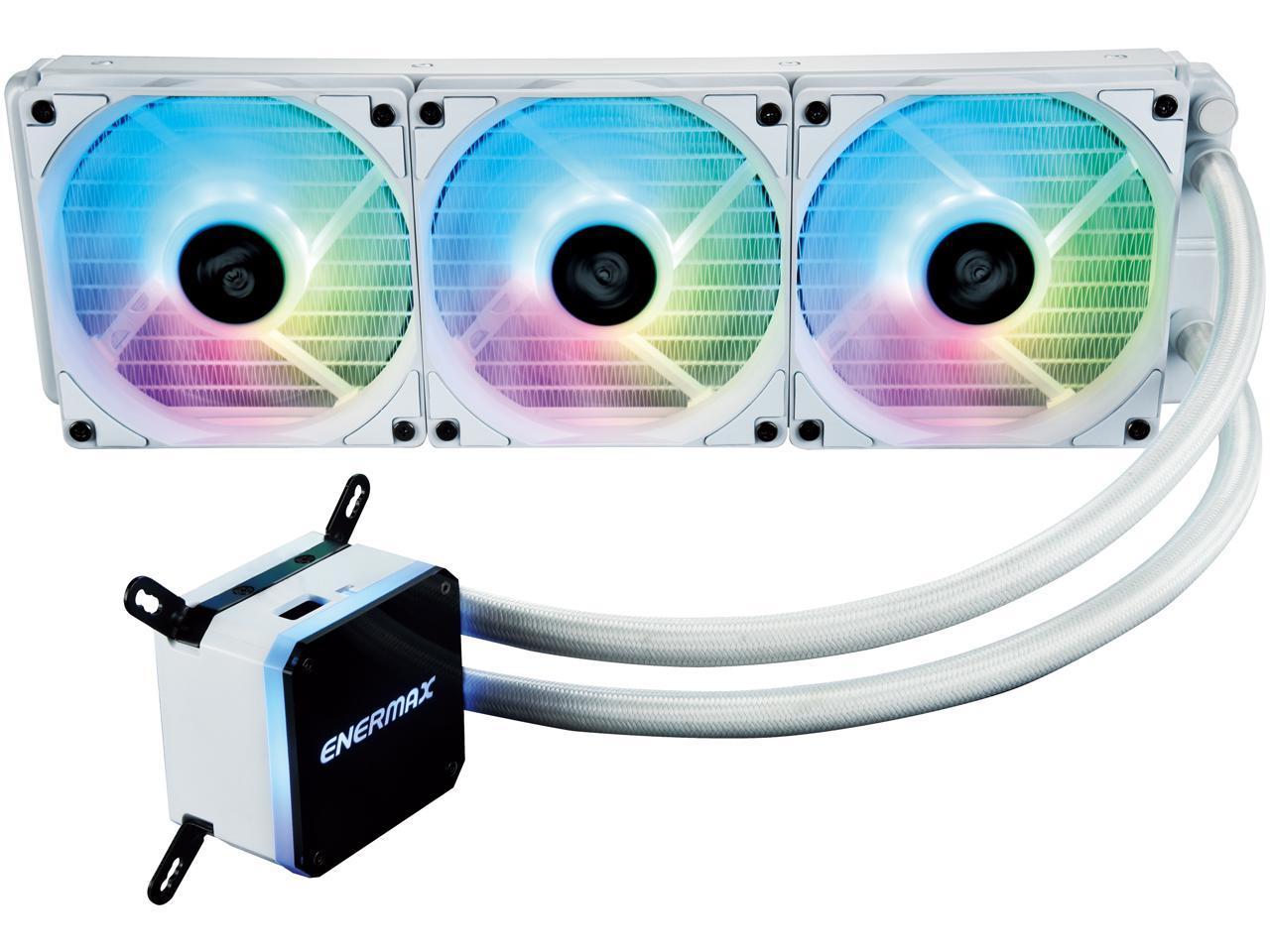 Enermax Liqmax III ARGB 360-mm All-In-One CPU Liquid Cooler $90, Enermax Aquafusion ARGB 360-mm All-In-One CPU Liquid Cooler $99 + Free Shipping