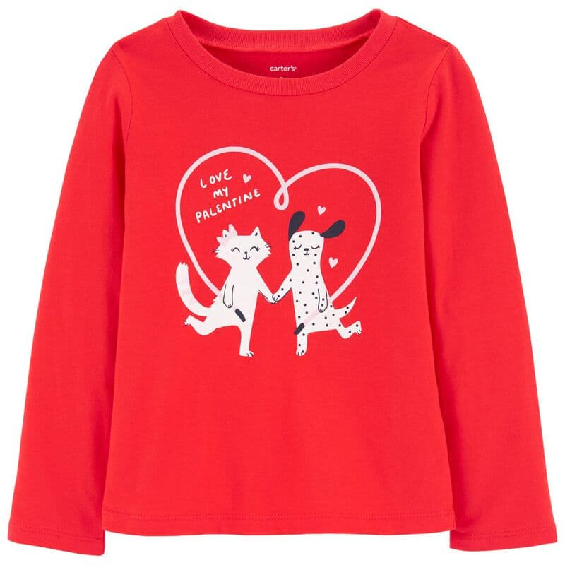 Carter's Apparel & Accessories: Baby Girls' Tees from $2.80, Toddler Boys' Tees from $2.80, More + Free Store Pickup or FS on $35+