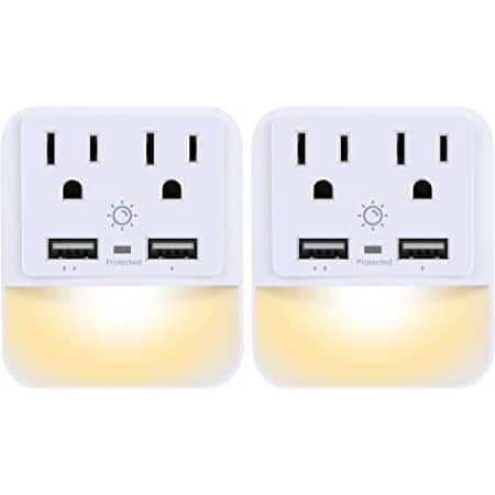 2-Pack Powrui USB Wall Charger w/ Dual USB Charger Ports $12.59 + Free Shipping w/ Prime or $25+