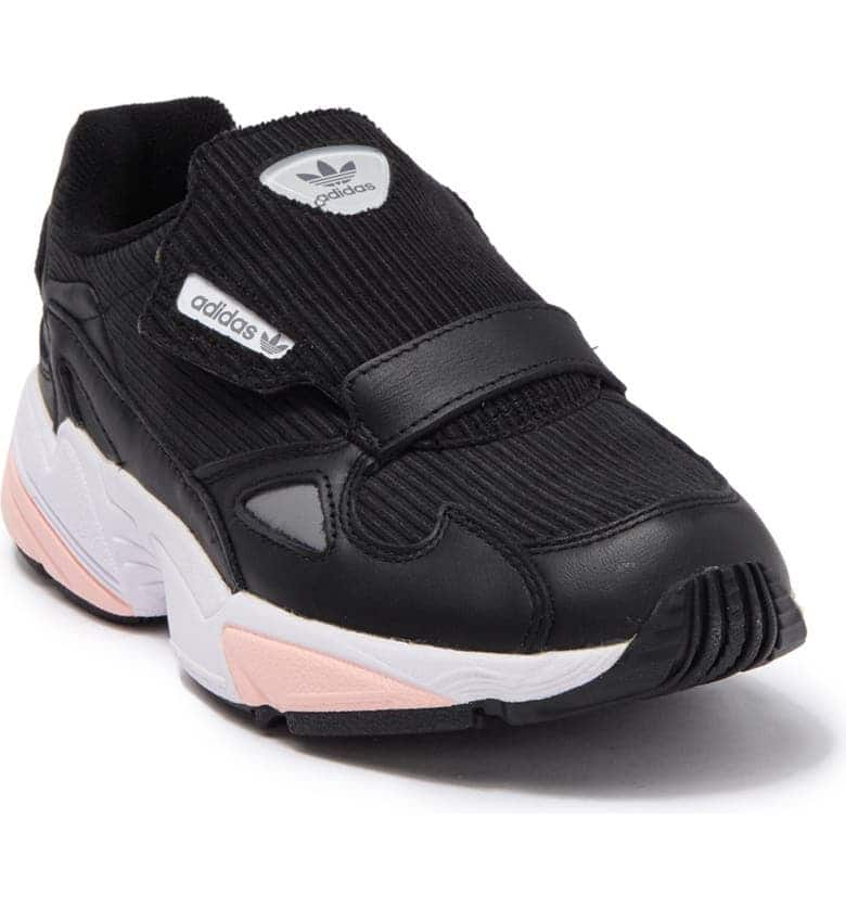 adidas Women's Falcon RX Wide Width Sneaker (Core Black): $24.75 (Retail: $130) + Free Store Pickup
