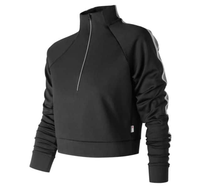 New Balance Women's Apparel: NB Athletics Track Pullover $16.99, Anorak Jacket $33.99, More + Free Shipping