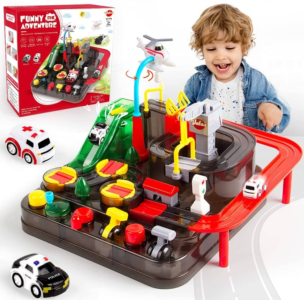 Vatos Kids' Race Track Car Tracks Playset $9 + Free Shipping w/ Prime or $25+