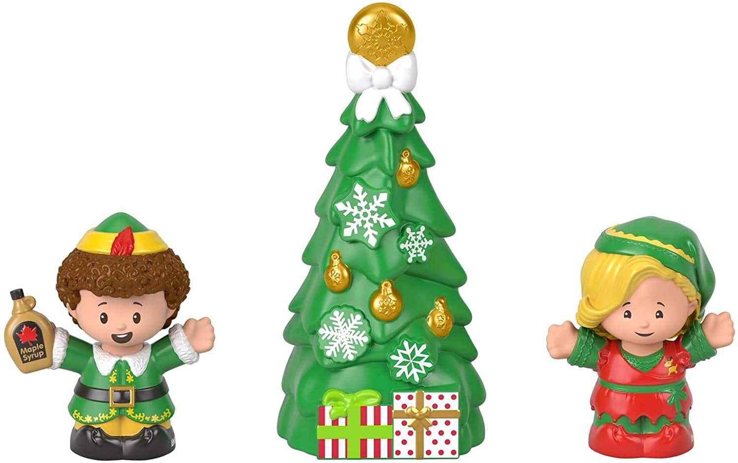 3-Piece Fisher-Price Little People Collector Elf Movie Figure Set $10.77 + Free Shipping w/ Prime or $25+