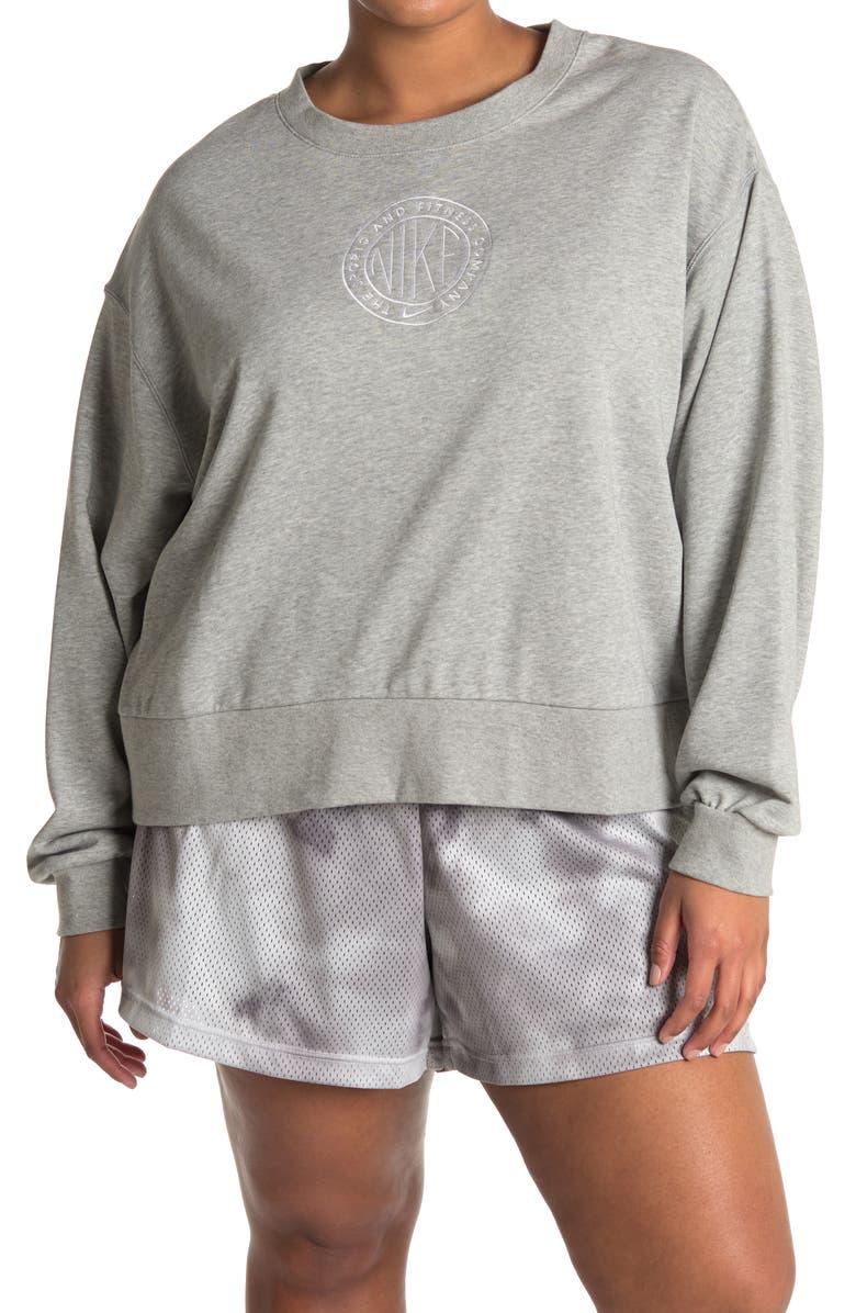 Nike Women's Plus Size Femme Crewneck Top $19.60, Nike Women's Plus Size Varsity Shorts $10.40, More + Free Store Pickup at Nordstrom Rack or FS on $89+
