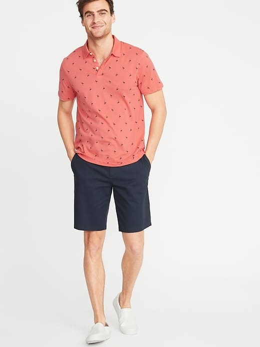 Old Navy Polo Shirts: Men's $8, Boys' $4 + Free Shipping on $50+