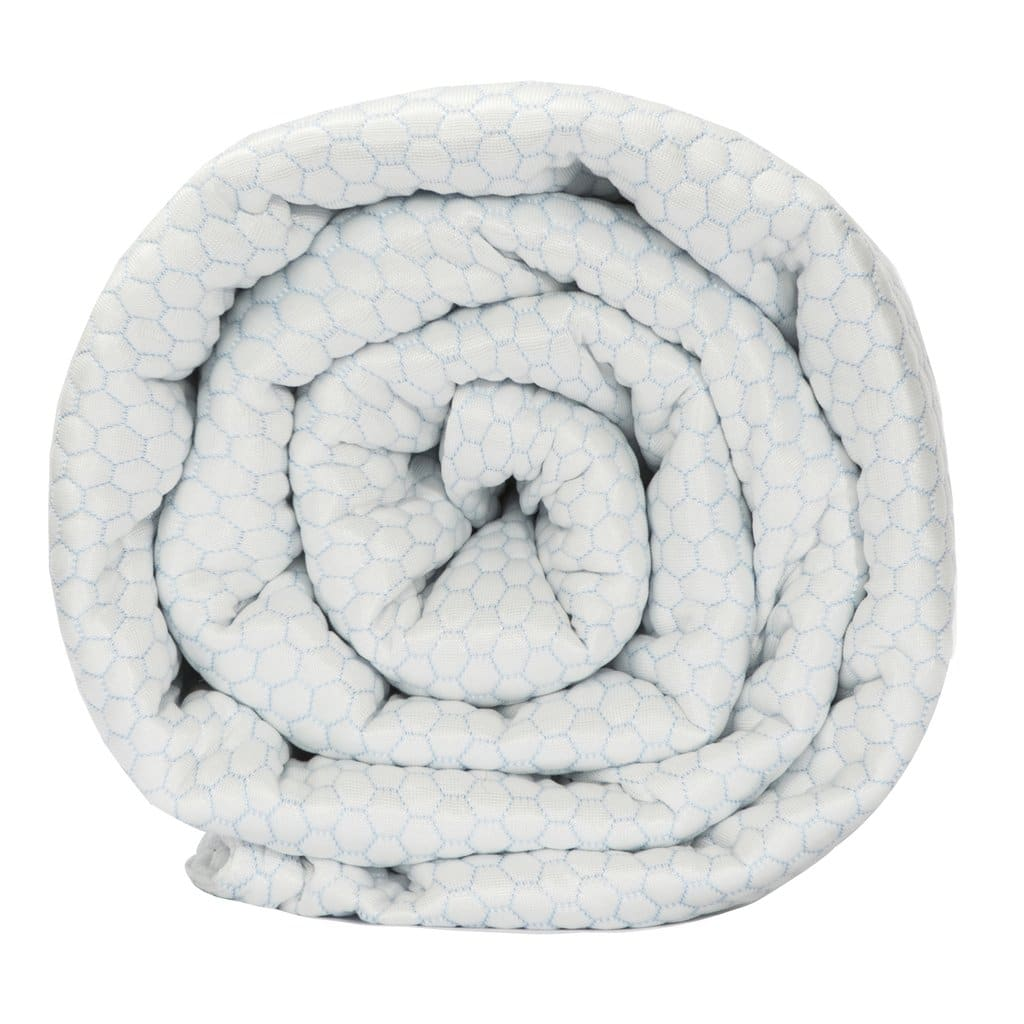 """BlanQuil: Chill-Cooling Weighted Blanket w/ Removable Cover (20lbs, 15lbs, 48"""" x 74"""") $175 + Free Shipping"""