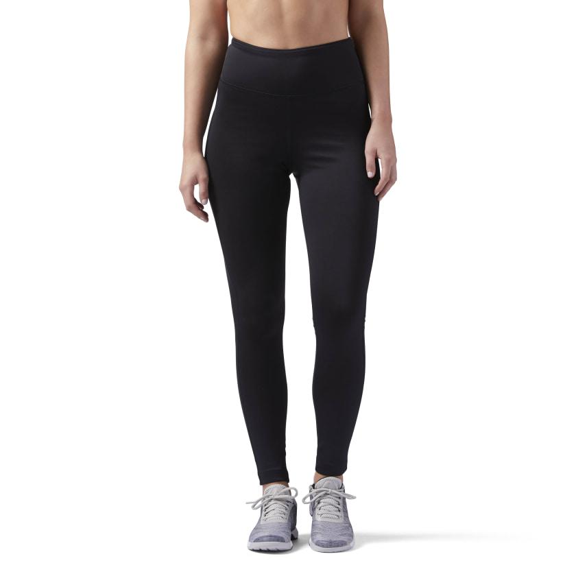 Reebok Women's Workout Ready Leggings (high rise, black) $15, Mesh Tank $8.50 + Free Shipping