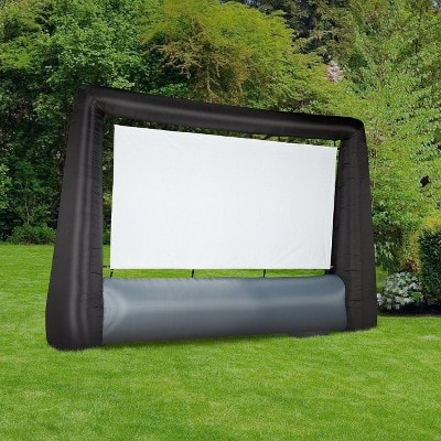 7.6' Airblown Inflatable Widescreen Movie Screen $91 + Free Shipping