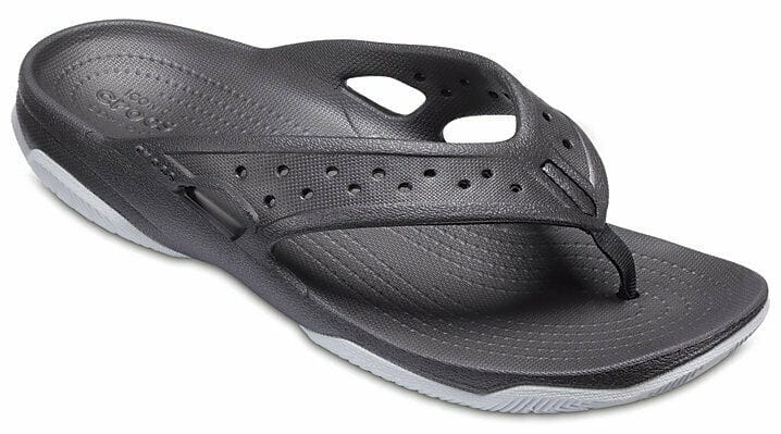 Crocs Men's Swiftwater Deck Flip Flop Sandal 2 for $24 ($12 each) + free shipping