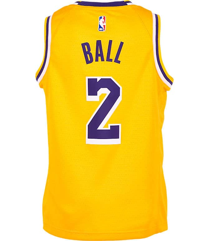 new style 35b8e 6c05e Kids' NBA Jersey: Los Angeles Lakers (Lonzo Ball) $15 ...