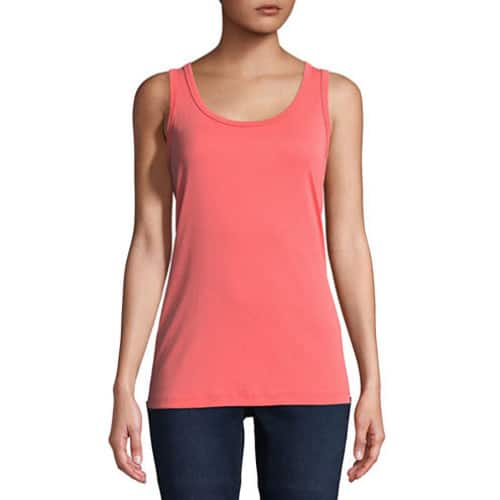 aaba7330e829 JCPenney: a.n.a. Women's Round Neck Tank Top (various colors) $3.50, a.n.a.  V-Neck Tank Top $3.50 + Free ship-to-store on $25+ - Slickdeals.net