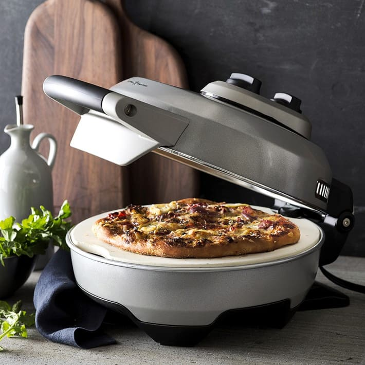 Breville Crispy Crust Pizza Maker (silver, cranberry red) $100 + Free Shipping